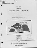 Meteorological Technician  AFSC 25170  PDF