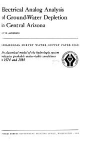 Geological Survey Water-supply Paper: Issues 1860-1861
