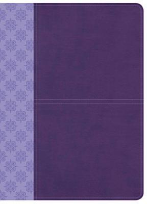 CSB Study Bible  Purple LeatherTouch