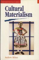 Cultural Materialism PDF