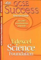 GCSE Edexcel Science Foundation Success Revision Guide PDF