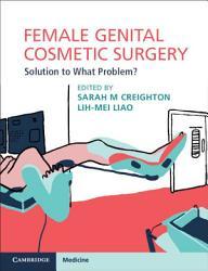 Female Genital Cosmetic Surgery PDF