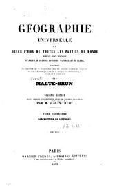 Géographie universelle: ou description de toutes les parties du monde, Volume3