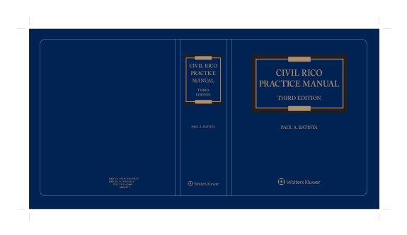 Civil RICO Practice Manual PDF