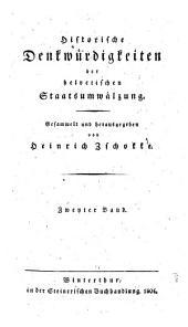 Historische Denkwürdigkeiten der helvetischen Staatsumwälzung: Volume 5