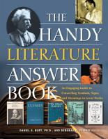 The Handy Literature Answer Book PDF