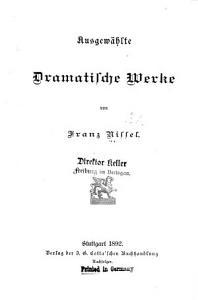 Ausgew  hlte Dramatische Werke PDF