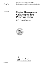 Major Management Challenges and Program Risks: Department of Justice