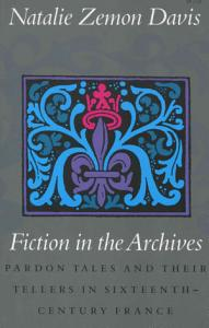 Fiction in the Archives Book