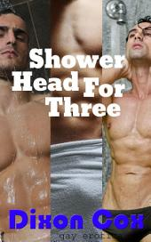 Shower Head For Three: (hot and steamy multiple gay shower session at the gym)