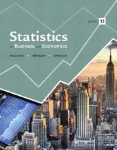 Statistics for Business and Economics: Edition 12