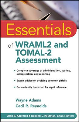 Essentials of WRAML2 and TOMAL 2 Assessment PDF