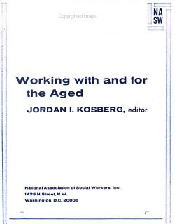 Working with and for the Aged PDF