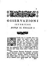 Osservazioni istoriche di Domenico Maria Manni... sopra in sigilli antichi de'secoli bassi: tomo ottavo, Volume 8
