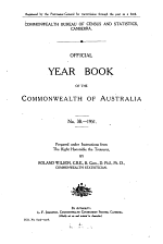 Official Year Book of the Commonwealth of Australia No. 38 - 1951