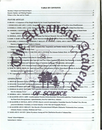Journal of the Arkansas Academy of Science