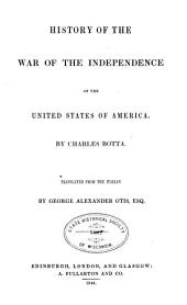 History of the War of the Independence of the United States of America
