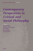 Contemporary Perspectives in Critical and Social Philosophy PDF