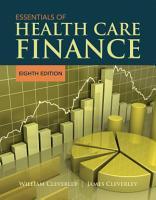 Essentials of Health Care Finance PDF