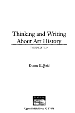 Thinking and Writing about Art History PDF