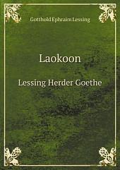 Laokoon: Lessing, Herder, Goethe