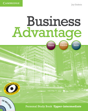 Business Advantage Upper Intermediate Personal Study Book With Audio Cd