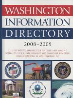 Washington Information Directory 2008 2009 PDF