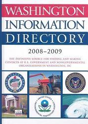 Washington Information Directory 2008 2009 PDF