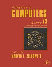 Advances in Computers: Emerging Technologies