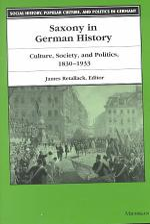 Saxony in German History