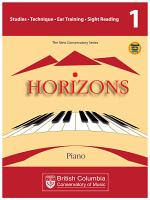 BCCM Horizons The New Conservatory Series Grade 1 Studies for Piano PDF