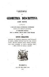 Lezioni di geometria descrittiva (etc.)