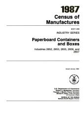 1987 Census of Manufactures: Industry series. Grain mill products, industries 2041, 2043, 2044, 2045, 2046, 2047, and 2048