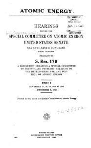 Atomic Energy PDF