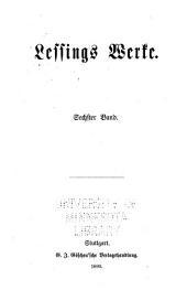 Lessings Werke: Aus der Theatralischen Bibliothek. Vorrede[n] Briefe, die neueste Litteratur betreffend