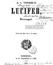 J. v. Vondel's Lucifer: treurspel