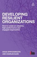 Developing Resilient Organizations PDF