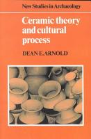 Ceramic Theory and Cultural Process PDF