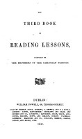 The third book of reading lessons PDF
