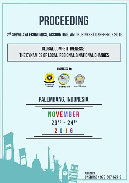 Proceeding: 2nd Sriwijaya Economic, Accounting, And Business Conference 2016