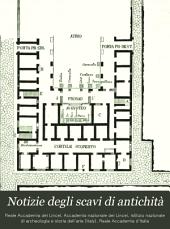 Notizie degli scavi di antichità
