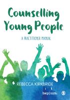 Counselling Young People PDF