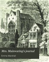 Mrs. Mainwaring's journal