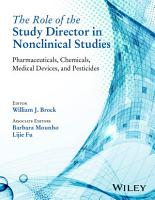 The Role of the Study Director in Nonclinical Studies PDF