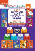 Oswaal CBSE Question Bank  Chapterwise   Topicwise  Solved Papers  Class 12  Physical Education  Reduced Syllabus  For 2021 Exam  PDF