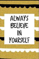 Always Believe In Yourself Book PDF