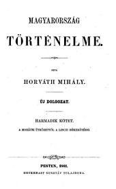 Magyarország történelme: 3. kötet
