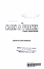 2004 Standard Guide to Cars and Prices, 1901-1996