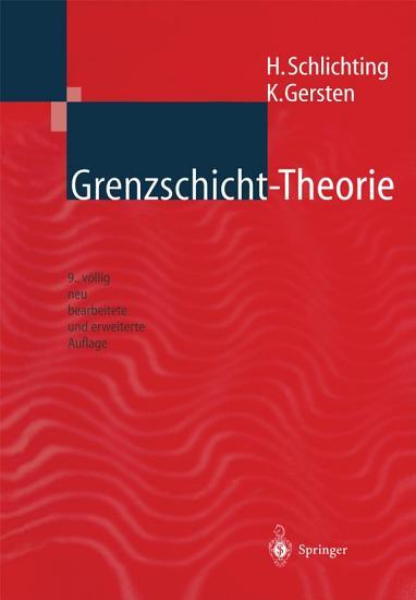 Grenzschicht Theorie PDF