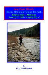 BTWE Rock Creek - January 7, 1985 - Montana: BEYOND THE WATER'S EDGE